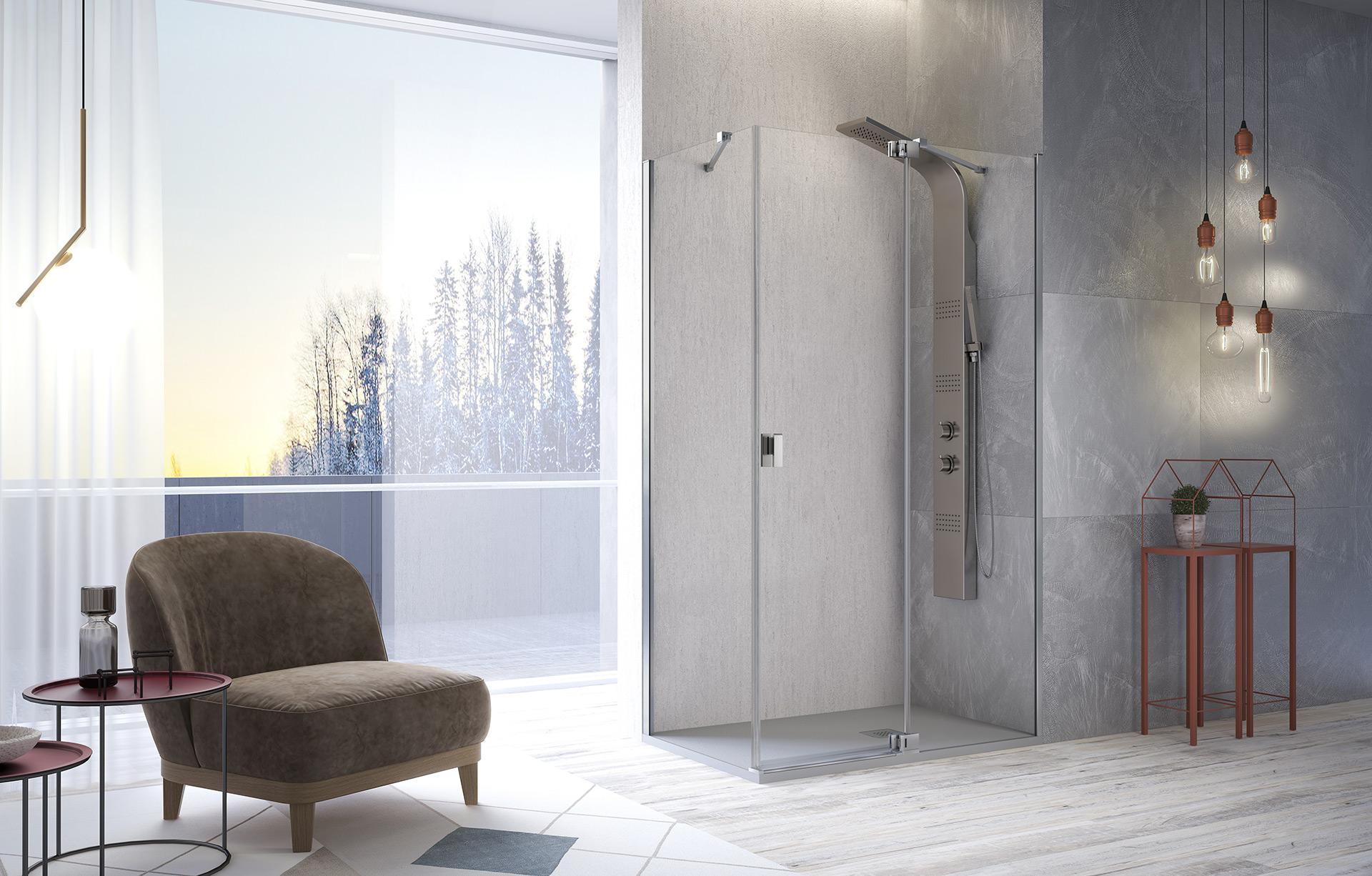 Frente de ducha Sula SL602+SL603+SL413