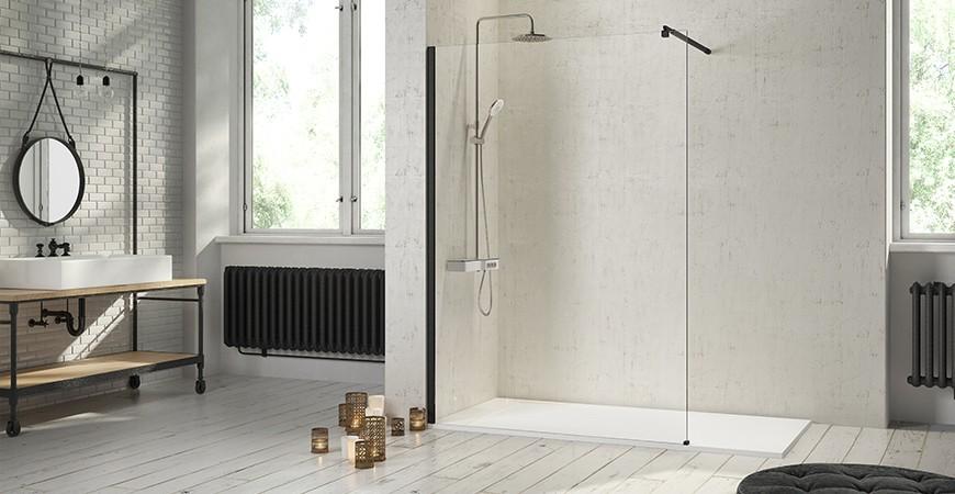 Mamparas para baños modernos