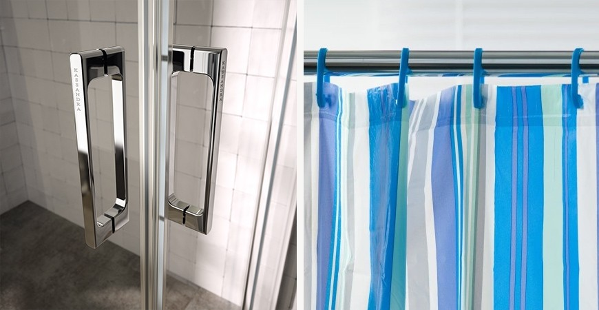 ¿Cortinas de baño o mamparas de ducha? Ventajas de optar por una mampara
