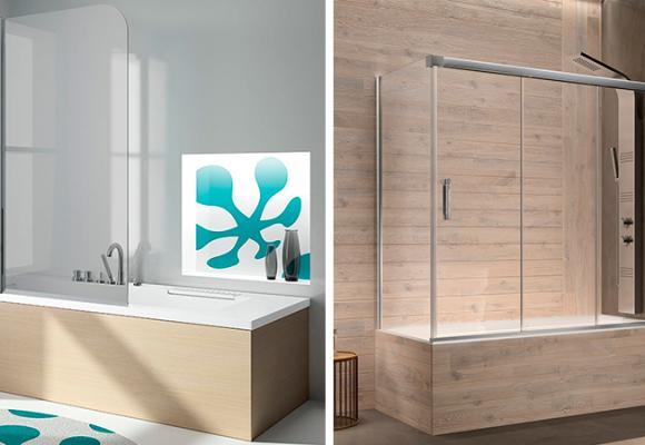 Mamparas de baño, sus ventajas frente a otras opciones